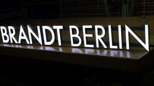 LED Vollacrylbuchstaben LKlux 11F