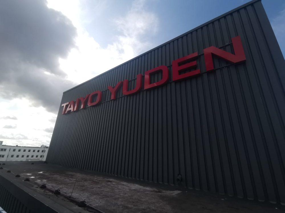 LED Einzelbuchstaben TAIYO YUDEN